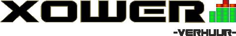 Xower licht & geluid verhuur logo